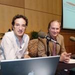 Radio Lab host Jad Abumrad and Robert Krulwich