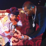 Spliff Star & Busta Rhymes at Rock the Bells 2009