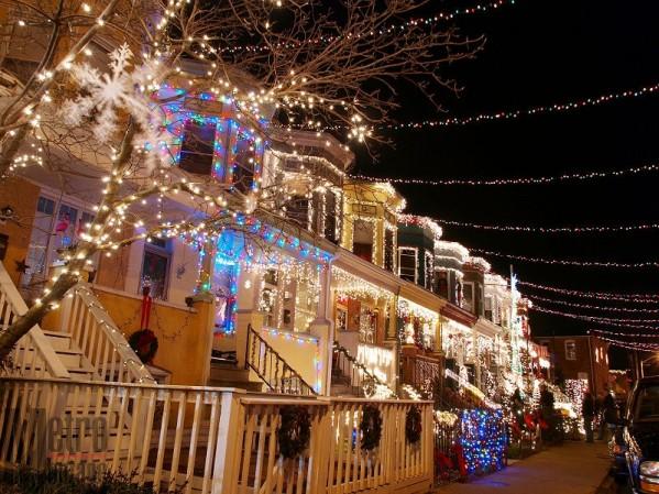 share this - Baltimore 34th Street Christmas Lights