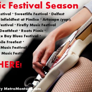 DC/MD/VA: 2013 Music Festival Season Is Here!