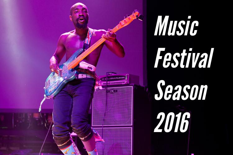 Music Festival Season 2016