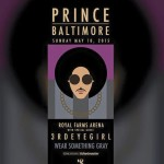 Prince at Royal Farms Arena, Sunday May 10