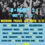 Upcoming Festival: U+Nfest V – Baltimore