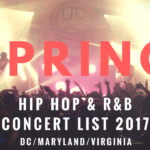 Spring Hip Hop & R&B Concert List 2017
